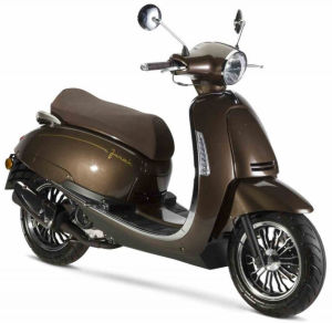 Junak Vintage 125 cm³ brązowy