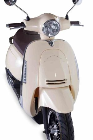 Junak Vintage 125 cm³ kremowy