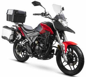 Junak RX One 125 czarno-czerwony