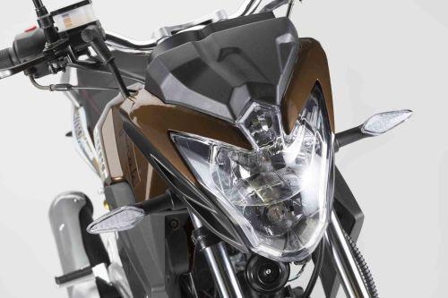 Junak 904 czarno-brązowy