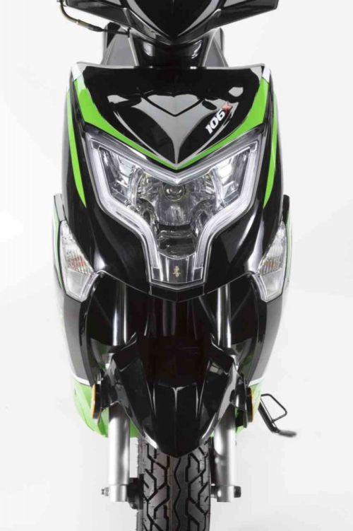 Junak 106 czarno-zielony