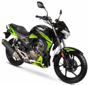 Junak 125 Racer czarno-zielony