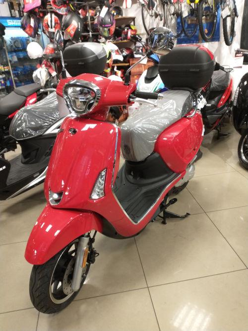 Skuter Kymco New Like II 50 cm3 czerwony