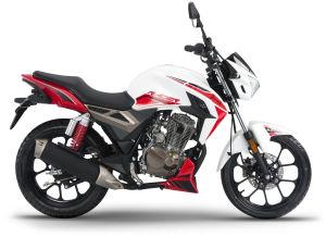 Junak 125 Racer biało-czerwony