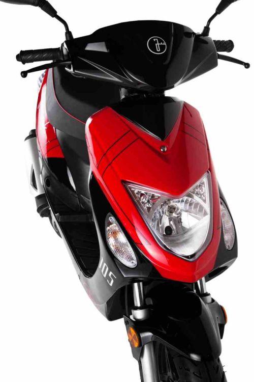 Junak 104 czarno-czerwony