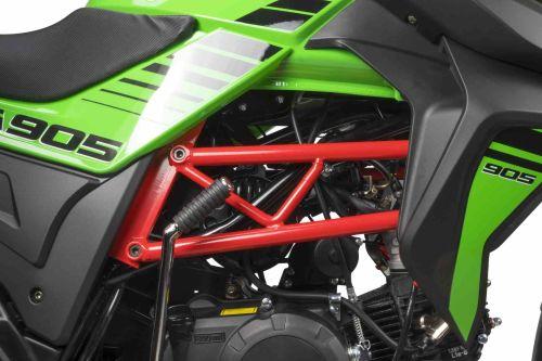 Junak 905 czarno-zielony