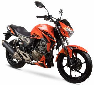 Junak 125 Racer czarno-pomarańczowy