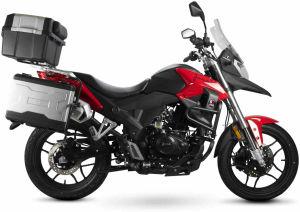Junak RX One 125 Ciecz czarno-czerwony