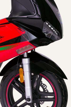 Junak 806 125 cm³ czarno-czerwony