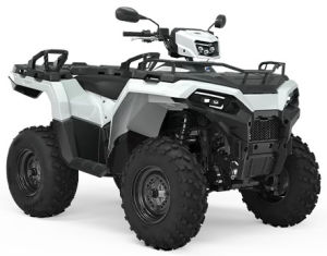 Quad Polaris Sportsman 570 EPS White Lightning