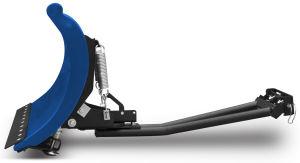 """Pług SHARK 60"""" niebieski (152 cm) z adapterem"""