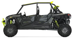 Polaris RZR XP 4 1000 High Lifter Stealth Gray