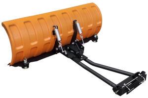 """Pług SHARK 60"""" pomarańczowy (152 cm) z adapterem"""
