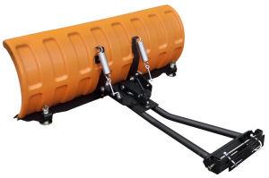 """Pług SHARK 52"""" pomarańczowy (132 cm) z adapterem"""