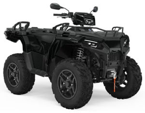 Quad Polaris Sportsman 570 EPS Black Pearl LE