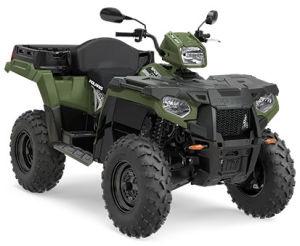 Quad Polaris Sportsman X2 570 EPS zielony
