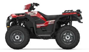 Quad Polaris Sportsman 850 czerwony