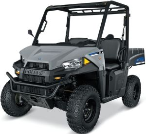Polaris Ranger EV Avalanche Gray