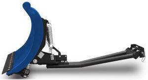 """Pług SHARK 52"""" niebieski (132 cm) z adapterem"""