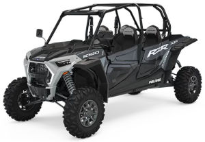 Polaris RZR XP4 1000 EPS Stealth Grey