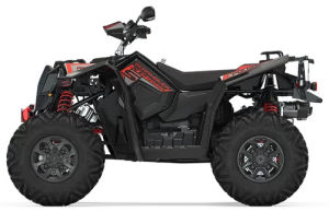 Quad Polaris Scrambler XP 1000 S Black Pearl