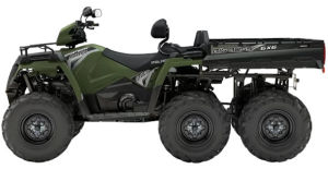 Quad Polaris Sportsman 6x6 570 EPS BigBoss Sage Green