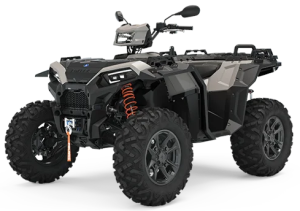 Quad Polaris Sportsman XP 1000 S Ghost Gray