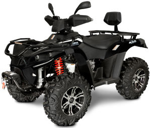 Quad Linhai 500 4x4 AR T3b – Wersja Premium czarny