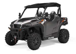 Polaris General 1000 ABS Deluxe Titanium Gloss