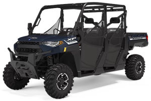 Polaris Ranger Crew XP 1000 Deluxe Steel Blue Metallic