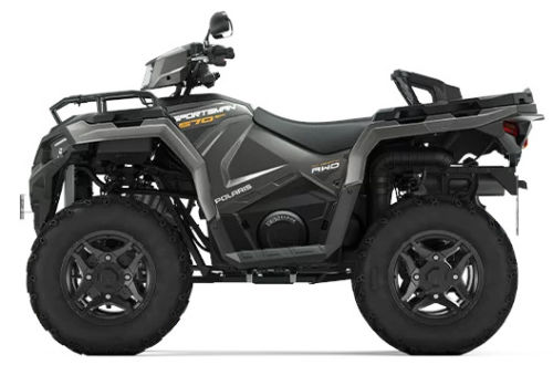 Quad Polaris Sportsman 570 SP Titanium Metallic