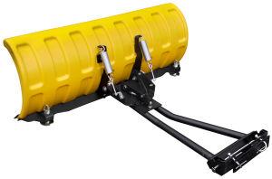 """Pług SHARK 60"""" żółty (152 cm) z adapterem"""