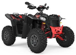 Quad Polaris Scrambler XP 1000 S czarno-czerwony