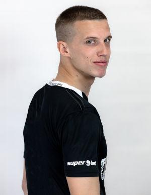 Koszulka meczowa Czarna 2020/2021