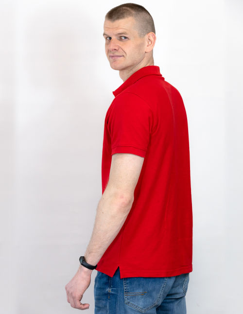 Koszulka polo z haftem