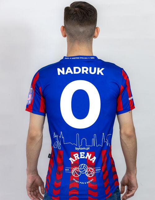 """Koszulka meczowa 2020 """"Pasiak"""" z nadrukiem"""