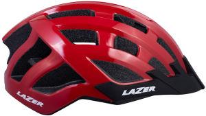 Kask rowerowy Lazer Compact (54-61cm) czerwony