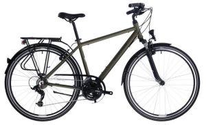 "Rower Kross Trans 2.0 SR M 28"" męski khaki czarny"