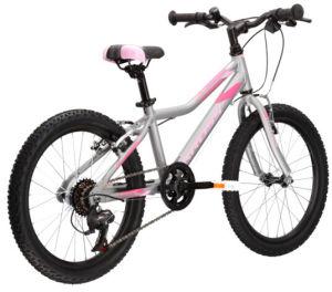 """Rower dziecięcy Kross Lea Mini 1.0 SR 20"""" srebrny różowy"""