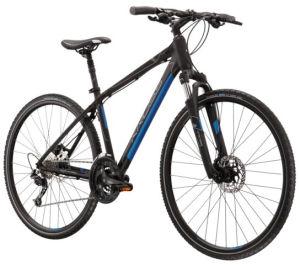 """Rower Kross Evado 6.0 SR S 28"""" czarny niebieski"""