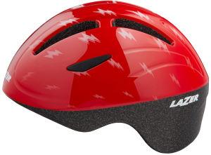 Kask rowerowy dziecięcy Lazer Bob+ (46-52cm) Red Flash