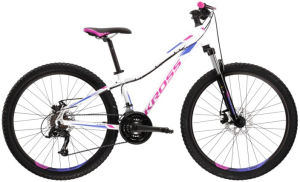 """Rower Kross Lea 3.0 SR XS 27,5"""" biały fioletowy"""