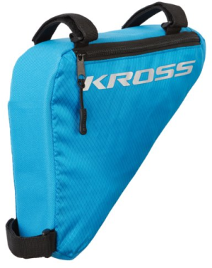 Torebka rowerowa trójkątna Kross Triangle Bag niebieska