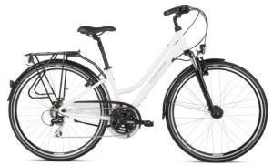 """Rower Kross Trans 3.0 M 28"""" damski biały szary"""