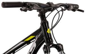 """Rower Kross Hexagon 5.0 M 29"""" czarny limonkowy szary"""