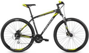 """Rower Kross Hexagon 5.0 S 29"""" czarny grafitowy limonkowy"""