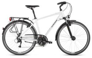 """Rower Kross Trans 4.0 M 28"""" męski perłowy czarny"""