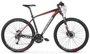 """Rower Kross Level 3.0 M 29"""" czarno-czerwono-biały"""