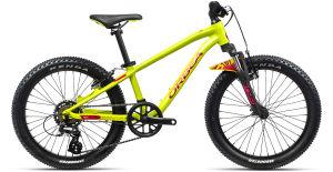 """Rower dziecięcy Orbea MX 20 XC 20"""" limonkowo-czerwony"""