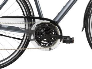 """Rower Kross Trans 2.0 SR M 28"""" męski grafitowy czarny"""